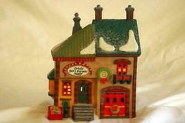 Dept 56 1991 North Pole Orly's Bell And Harness Supplies Light Up House - $14.39