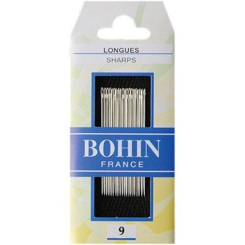 Bohin Sharps Hand Needles, Size 9, 20 Per Package - $12.76