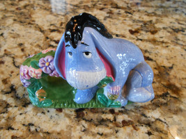 Disney Eeyore From Winnie The Pooh Ceramic Tableware Napkin Ring - $14.70