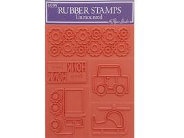 Stampabilities Transportation Rubber Stamp Set #210773-UM008