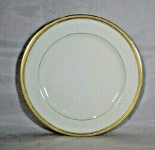 Antique Haviland & Co Limoges Plate Gold Embossed Edge Pour James Kansas... - $14.00