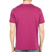 Men's Psycho Bunny Shirt Cullman Graphic Tee Pink Raspberry Striped Logo T-shirt image 6