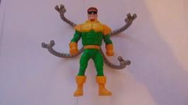 "McDonalds Marvel 4"" Dr Octopus-Moving Tentacles-DrOctopus Poseable-Superman-1995 - $10.88"