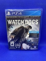 NEW! Watch Dogs Signature Edition (Sony PlayStation 4, 2014) PS4 Factory... - $24.40