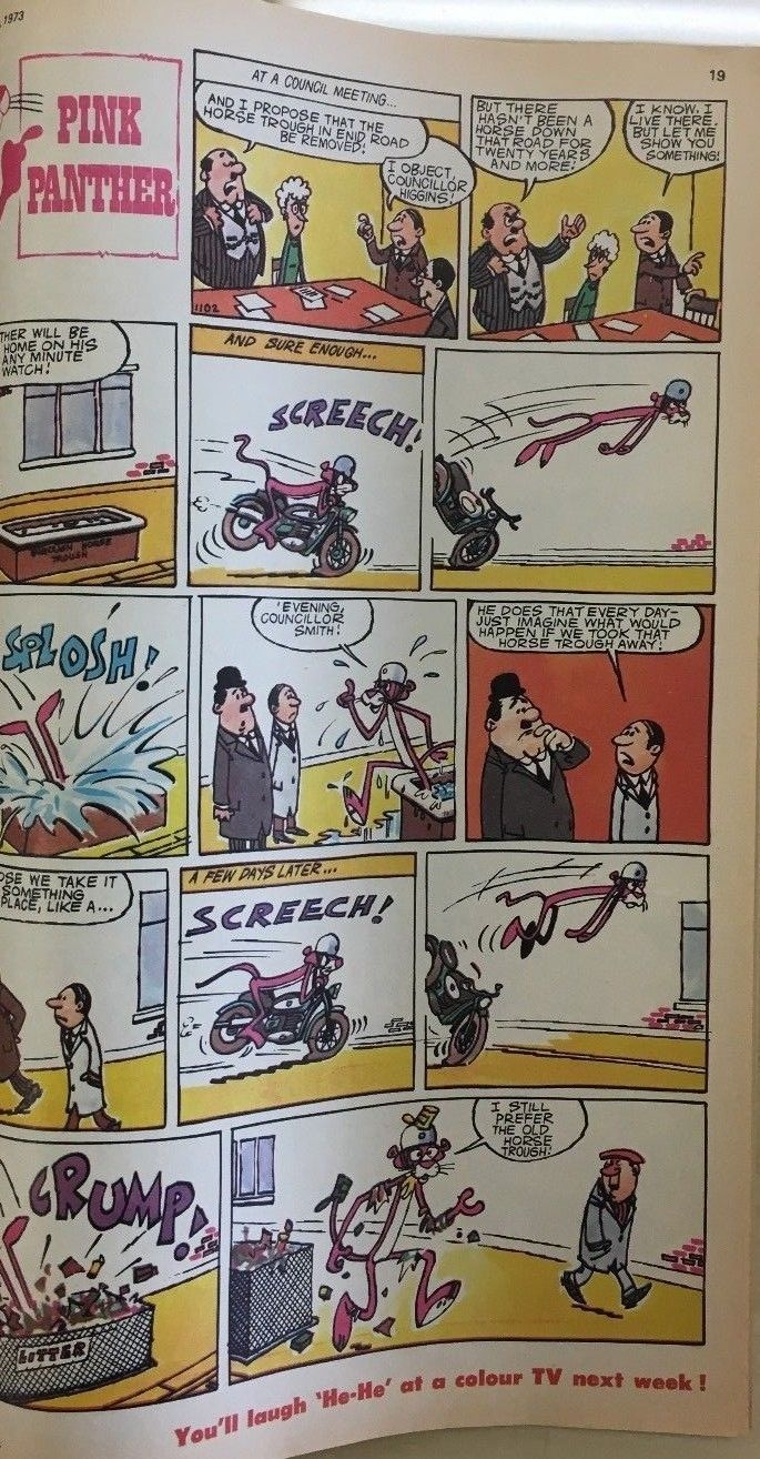 TV COMIC #1102 weekly British comic book January 27 1973 Tarzan