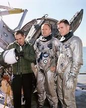 Astronauts Neil A. Armstrong (center), command pilot, and David R. Scott - $7.18