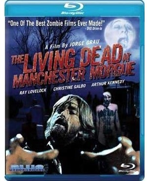 Living dead at manchester morgue blu ray import