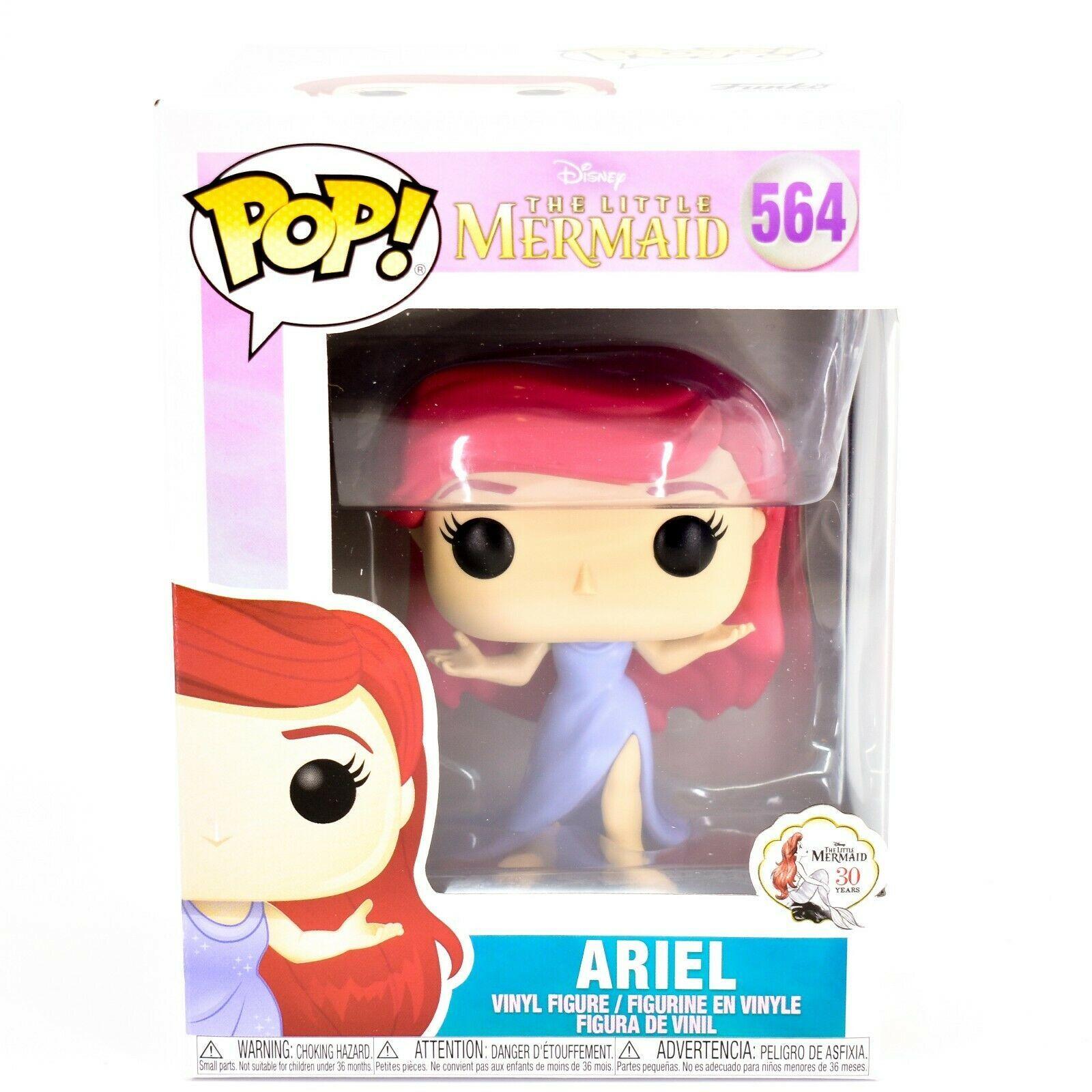 Funko Pop! Disney Little Mermaid Ariel w Purple Dress Vinyl Figure #564