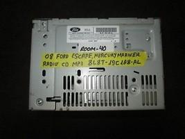 08 Ford Escape Mercury Mariner Radio Cd MP3 #8L8T-19C108-AL *See Item* - $14.85