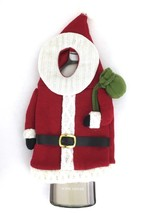 Santa Claus Wine Bottle Cover St Nicholas Square Christmas Holiday Gift ... - $17.77
