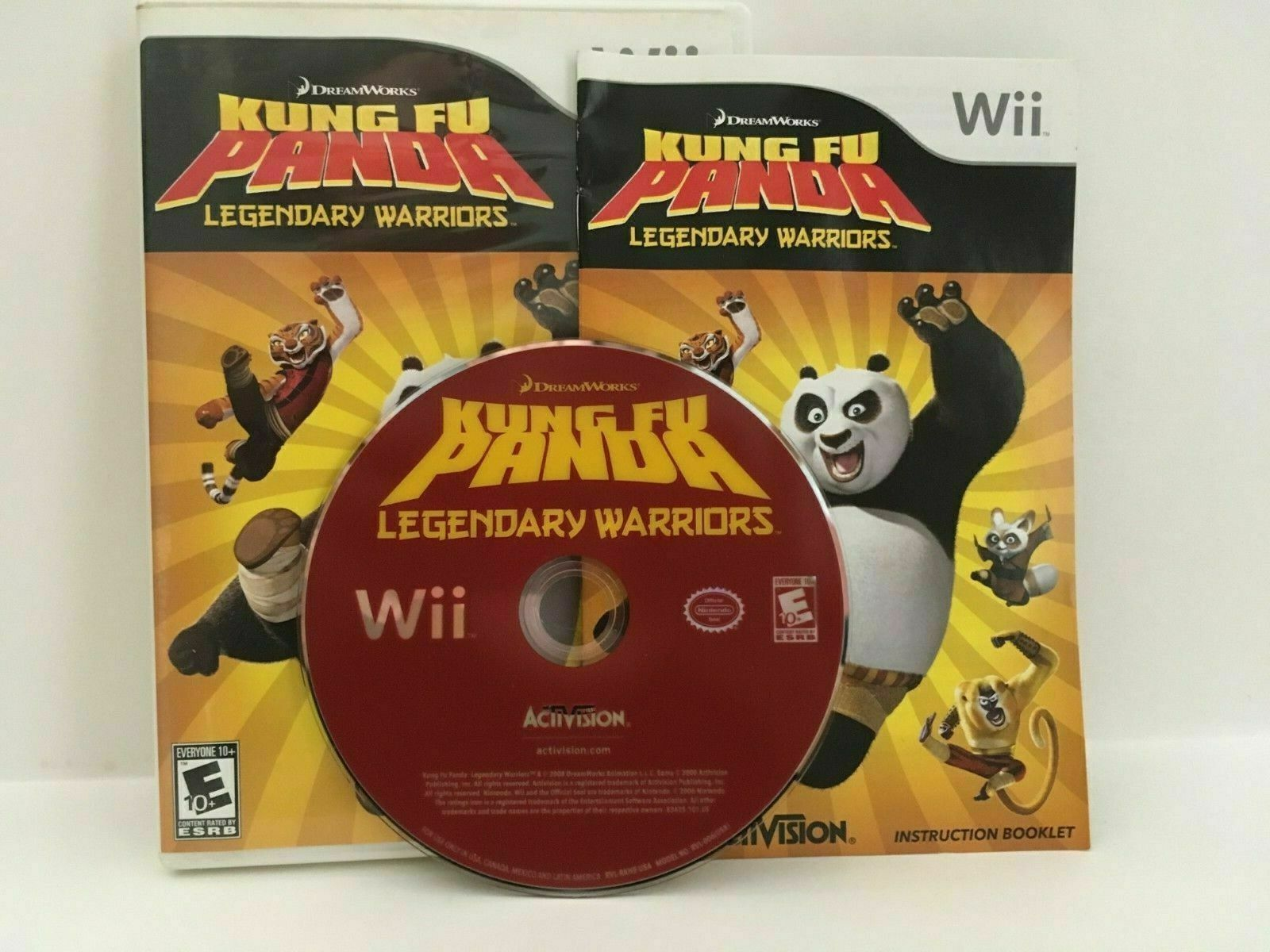 Primary image for Kung Fu Panda: Legendary Warriors (Nintendo Wii, 2008)