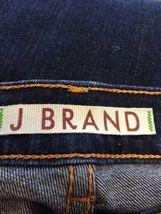 Anthropologie J BRAND Jeans Straight 805 Ink Dark Wash Low Rise Size 24 Women's image 8