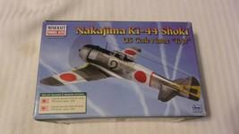 1/144 Scale Minicraft Nakajima Ki-44 Shoki Tojo Airplane Kit BNOS #14656 - $22.28