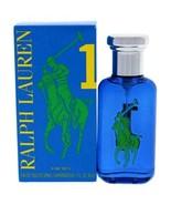 Big Pony Blue By Ralph Lauren 1.7 Oz / 50ml Eau De Toilette Spray for Men - New  - $32.99