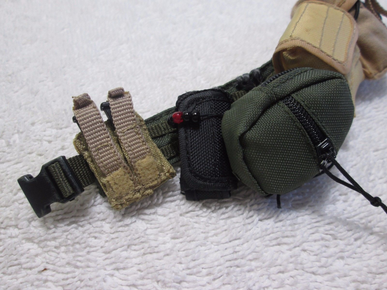 Navy Seal VBSS Belt + Pouches PCU Ver. Accessory - Hot Toys 2007