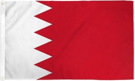 BAHRAIN 3X5' FLAG NEW 3'X5' 3 X 5 FEET BIG BAHRAIN FLAG - $9.85
