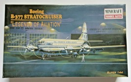 Minicraft Boeing B-377 Stratocruiser Pan Am Model Kit Factory Sealed Box - $33.99