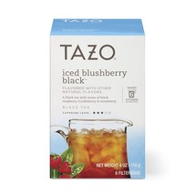 Tazo Iced Blushberry Black Tea Filterbags 24 count - $39.21