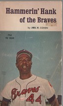 Hammerin' Hank of the Braves - Joel H. Cohen - PB - 1971 - Scholastic Bo... - $0.97