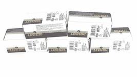 LOT OF 5 NEW LEVITON 4710 LOCKING RECEPTACLES 15A, 125V, BLACK