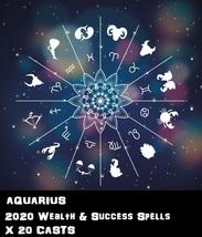 Aquarius Star Sign 20 X Wealth Spells Cast Voodoo Pin Point Exact Work - $30.00