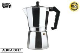 Continental Stove Top Coffee Maker Espresso Percolator 9 Cup/450 ml - $18.26