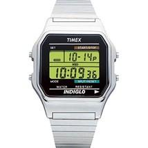 Timex Classic Men's T78587 Quartz Watch with Black Dial Digital Display ... - $84.00