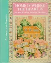"""Hard Covered Book - """"Home is Where the Heart is"""" Kooler Design - Gently ... - $18.00"""