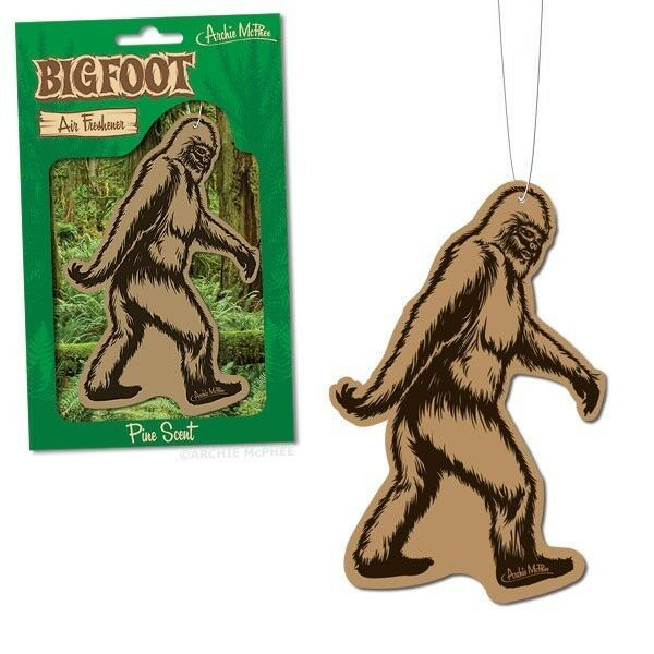 Primary image for Bigfoot Deluxe Pine Scented Air Freshener!