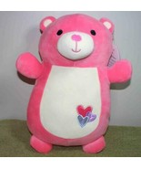 """Squishmallows Hugmees MOLLY the PINK BEAR 12""""H New - $18.88"""