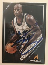 Shaquille O'Neal Signed Autographed 2014 Pinnacle Basketball Card - Orla... - $19.99