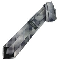 "New KENNETH COLE REACTION Men's Tie Silver Fine Silk Neck Tie 59"" - $13.95"