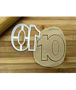 Number 10 Cookie Cutter/Multi-Size - $4.50+