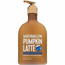 Bath and Body Works MARSHMALLOW PUMPKIN LATTE Hand Soap with Shea Extrac... - $14.99