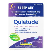 Boiron - Quietude Tablets - Restless Sleep - 60 Tablets - $12.49