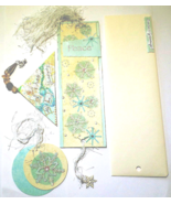 Happiness & Peace Bookmarks 2pk Snowflakes, Spring Flowers - $10.50