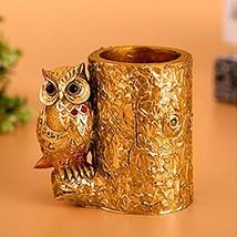 Owl Pen Holder Pencil Holder Container Brush Pot Brush Holder for Desk O... - €15,22 EUR
