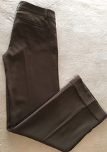 Express Editor Women Brown Trouser Dress Pants Size 2 R - $49.99