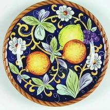 Tabletops Unlimited VILLA BELLAGIO 8 5/8 Salad Plate Set of 2 Fruit Gold... - $25.23