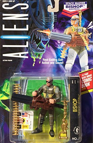Aliens - Space Marine Bishop Android Action Figure