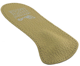 Three Quarter Insole With Metatarsal Support Leather - $5.25