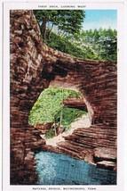 Tennessee Postcard Waynsboro Natural Bridge Lake Of The Woods - $2.26
