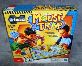 Brand New n Sealed Box•Hasbro•u-build•2010•Mouse Trap Game•Unopened•Gift Quality - $20.24