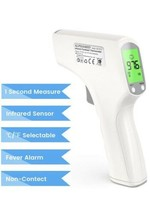 ALPHAMED No-Touch Digital Infrared Thermometer Forehead Body Adult Baby NEW - $23.90