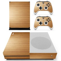 Wooden Board decal xbox one S console and 2 controllers - $15.00