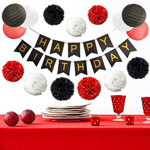 InBy Mickey Mouse Birthday Party Decoration Kit for Girl - Tissue Paper Pom Pom
