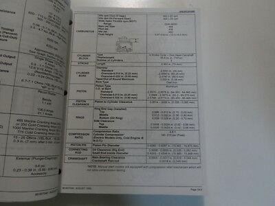 1998 Mercury Mariner Outboards 30 40 4 Stroke Service Repair Manual 90-857046 image 5