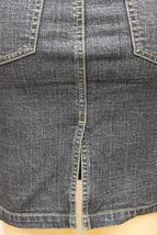 Dkny Jeans Juniors Premium Fashion Stretch Denim Skirt With Rhinestones image 8