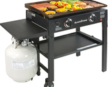 """Party 28"""" Griddle Grilling Bar-B-Q Cooking Station Backyard Deck Patio Camping.."""