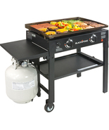 "Party 28"" Griddle Grilling Bar-B-Q Cooking Station Backyard Deck Patio C... - $325.00"